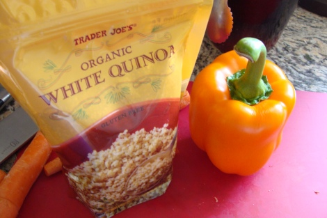 quinoa and pepper