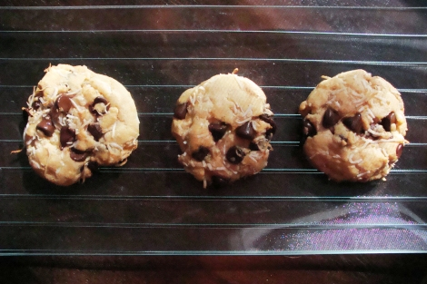 Chocolate coconut cookies3