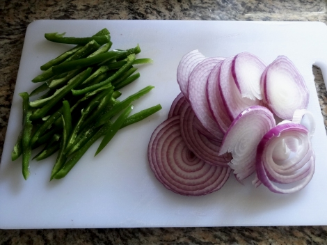 onion and jalapeno sliced