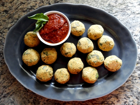Chickpea Meatballs 4