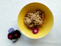 Plum Crumble via The Cheerful Kitchen