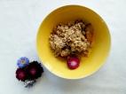 Plum Crumble via The Cheerful Kitchen