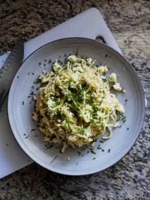 Breakfast Pasta via The CheerfulKitchen