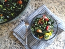 Chopped Kale Salad via TheCheerful Kitchen