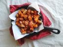 Sesame roasted Sweet Potatoes via The Cheerful Kitchen