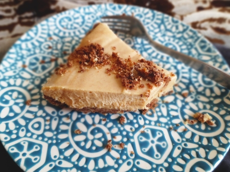 Vegan Peanut Butter Pie via The Cheerful Kitchen