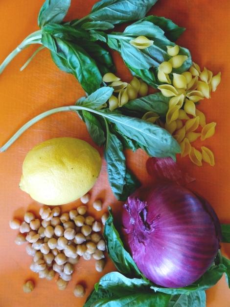 Lemon Basil Pasta Salad via The Cheerful Kitchen
