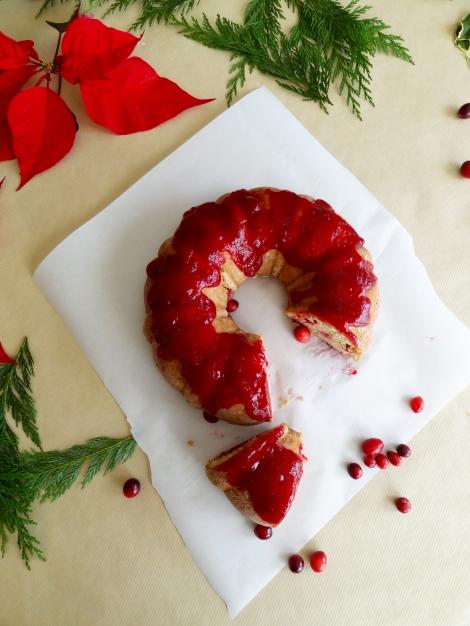 cranberry brandy bundt cake the cheerful kitchen